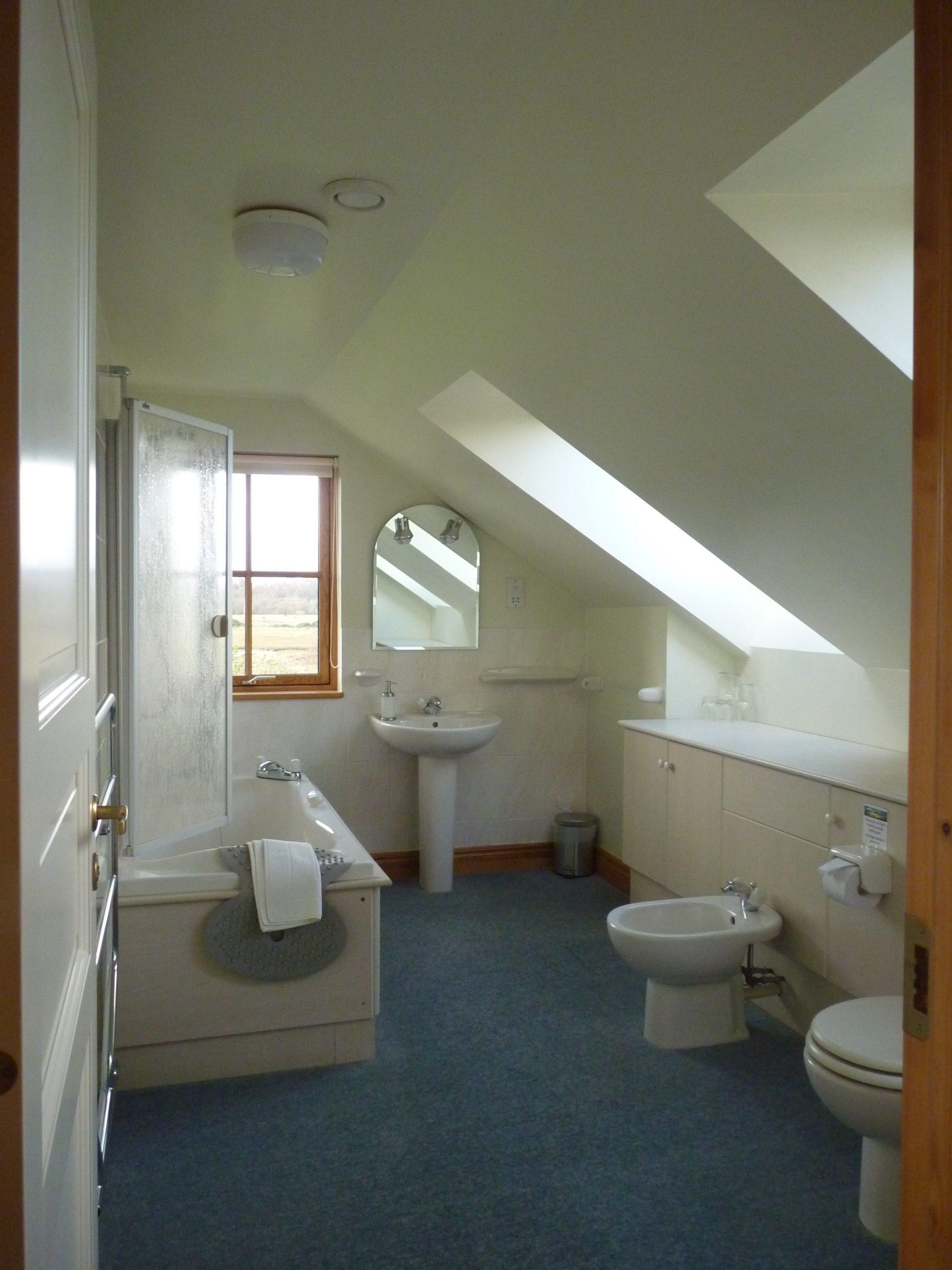 Bathroom upstairs BenderlochSelfCatering