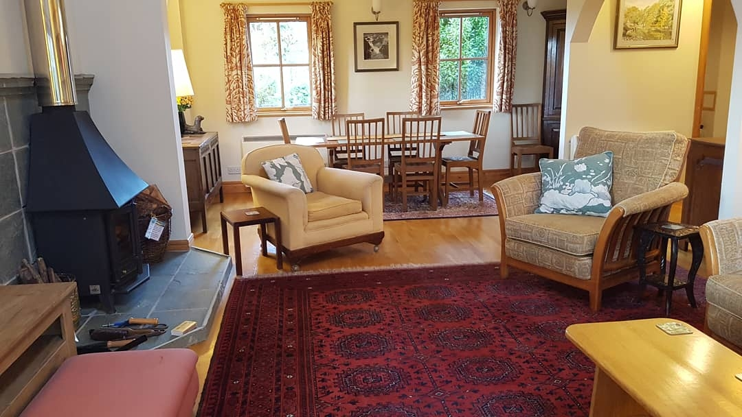 Sitting room Dining Room BenderlochSelfCatering