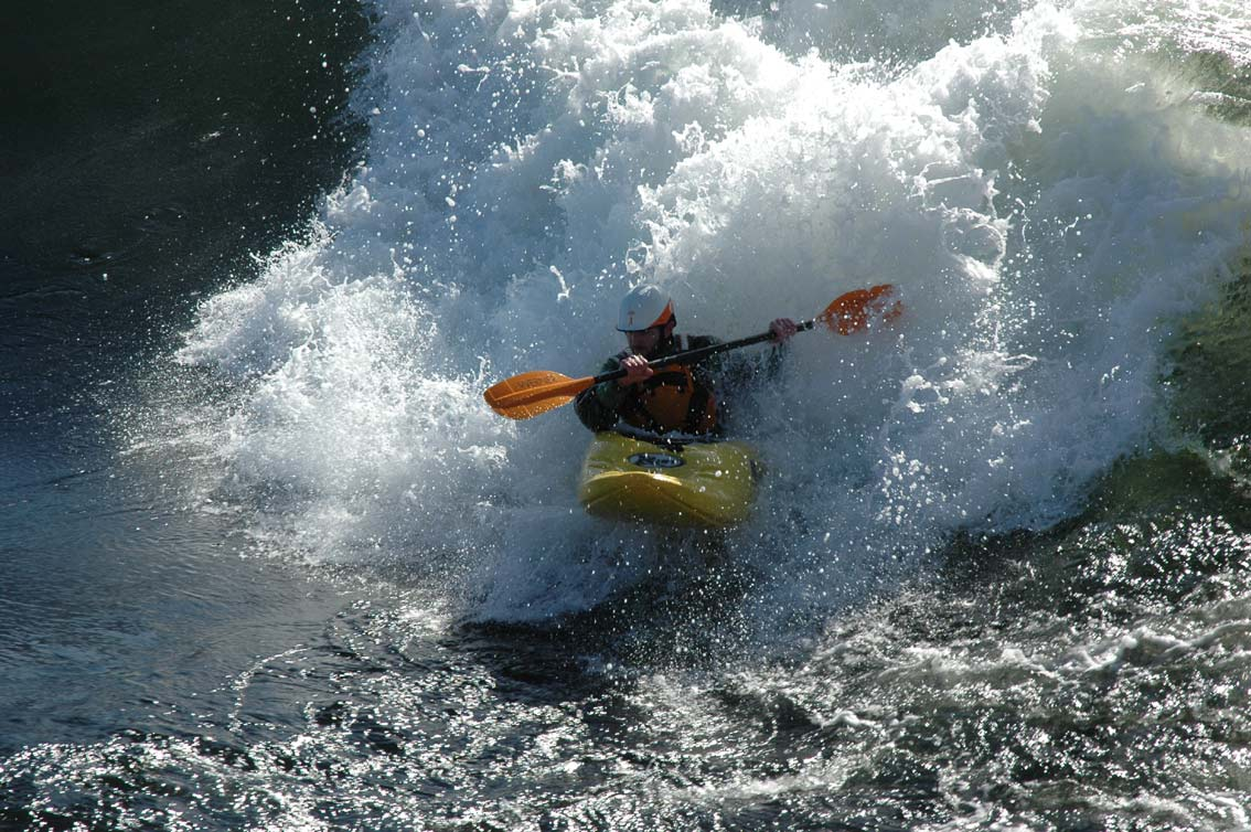 surfing kayak falls of lora