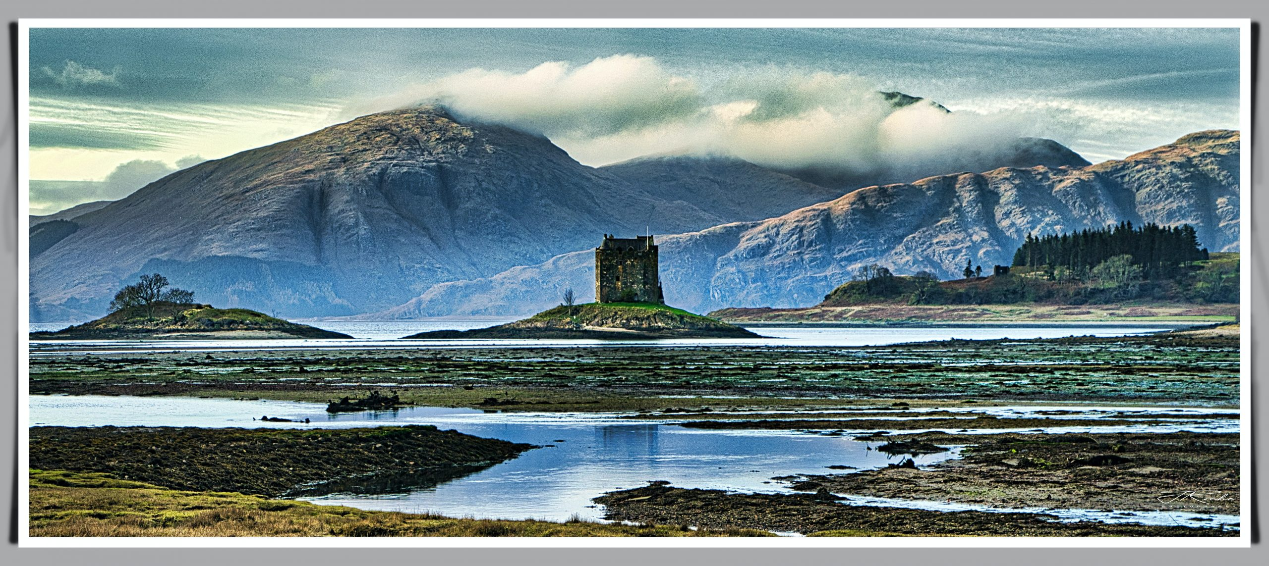 the Jacobite flickr castle stalker