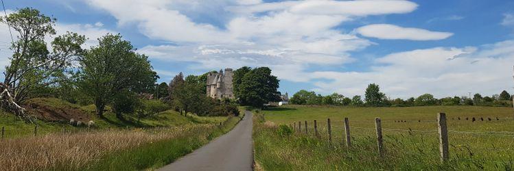 Barcaldine Castle Fields header