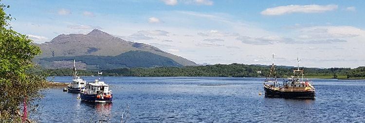 Ben Cruachan Loch Etive view header