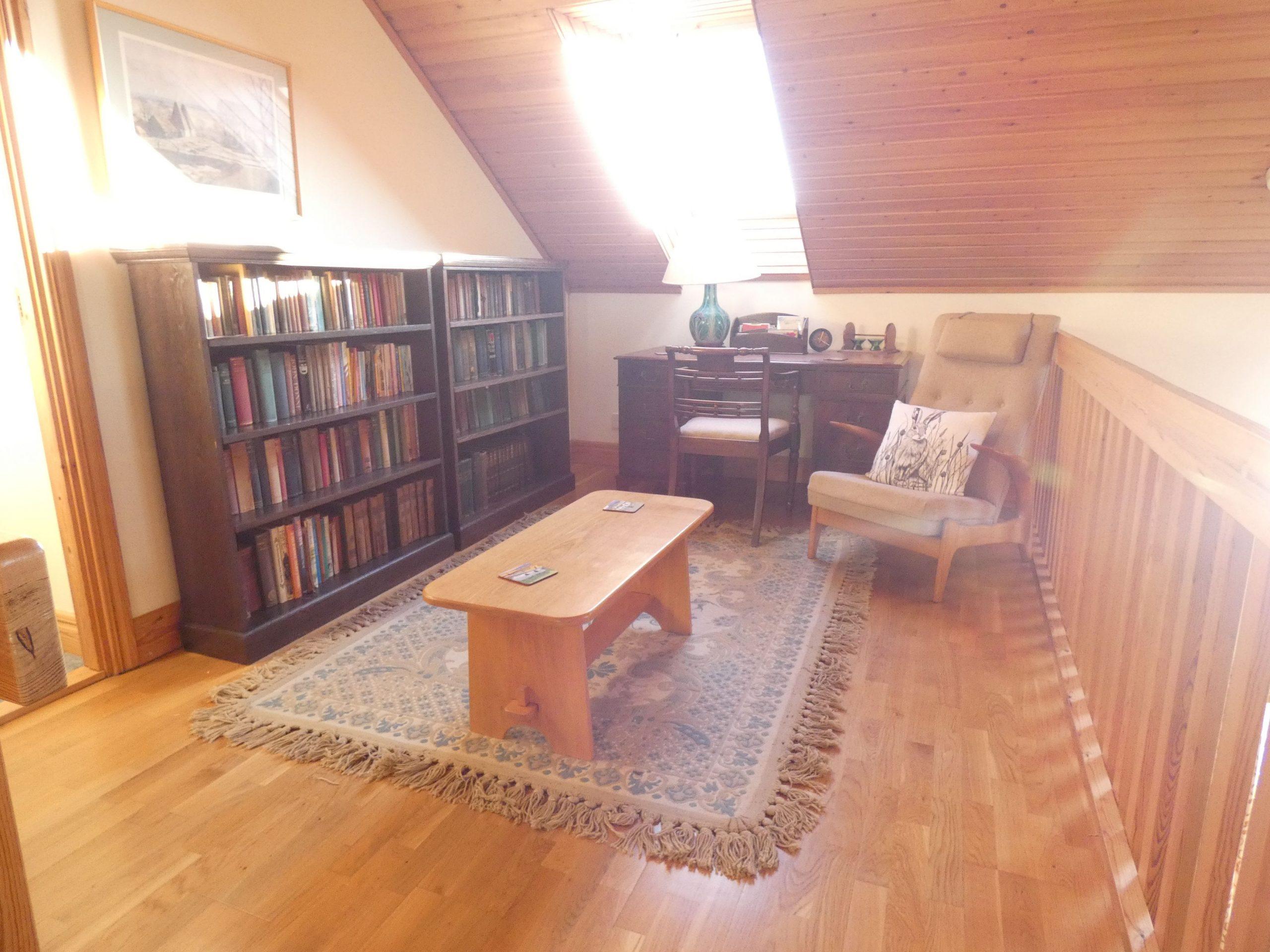 Balcony Study area