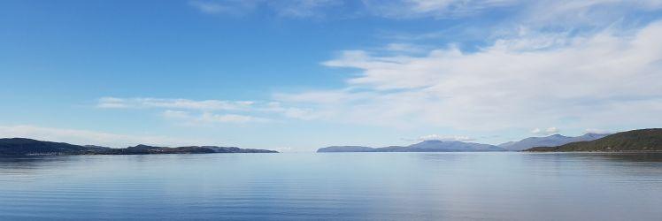 Tralee blue skies and seas