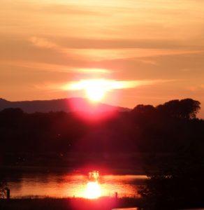 sunset DSCF2316